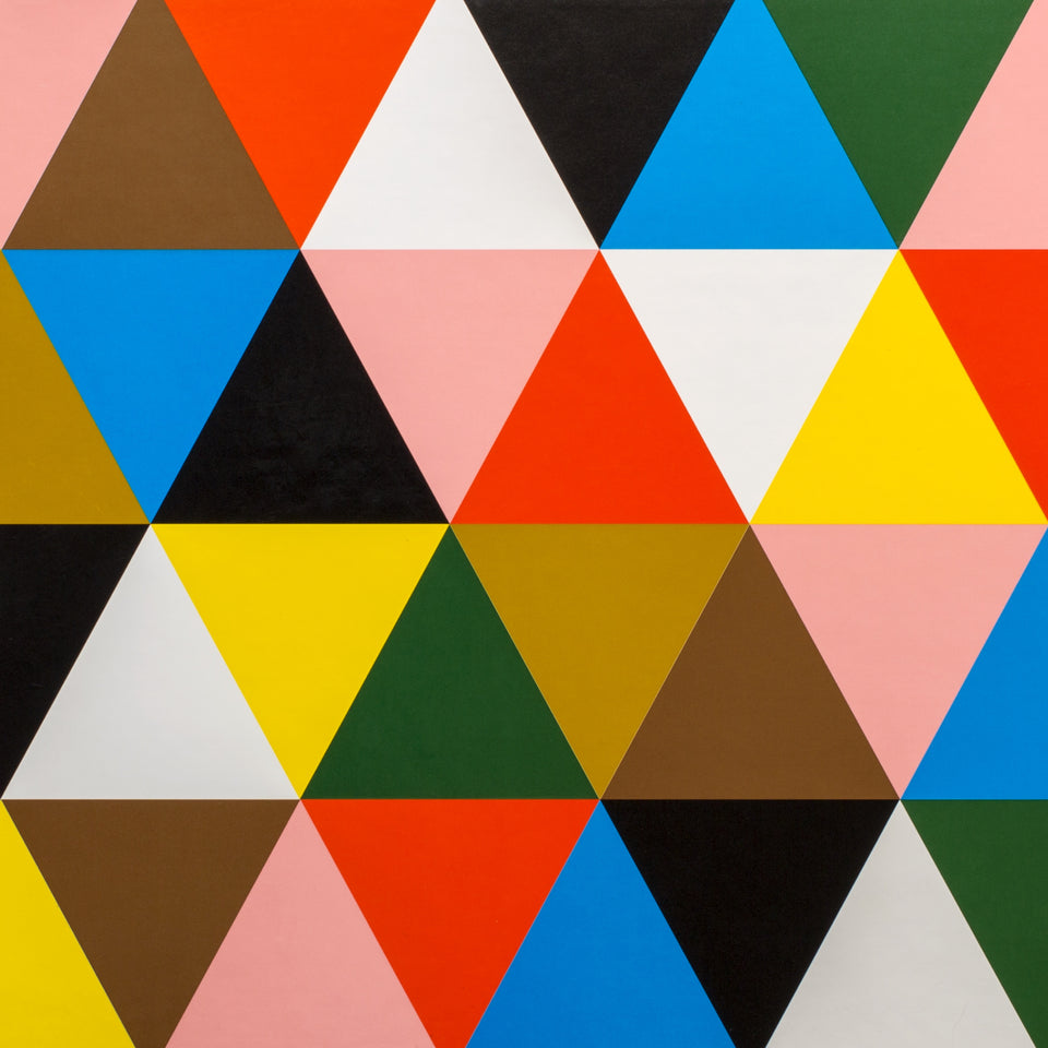 Eames Book - Beautiful Details - Colorful Triangles Pattern - By Autotype