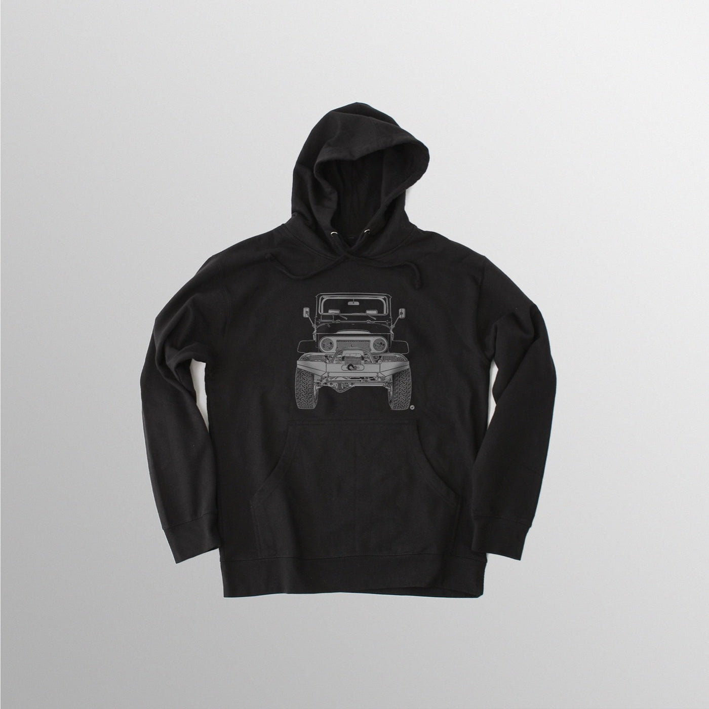 Men's FJ40 Hooded Fleece - Black