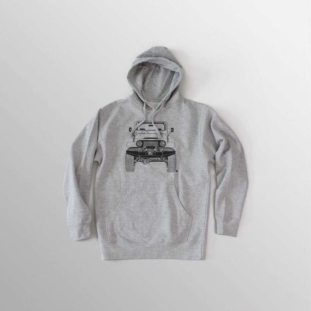 Men's FJ40 Hooded Fleece - Athletic Heather Grey