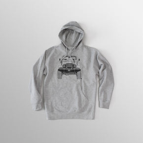 Men's FJ40 Hooded Fleece