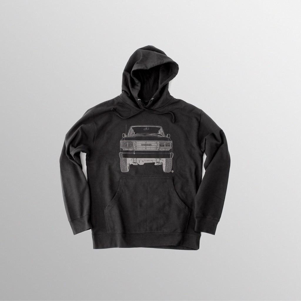 Men's FJ62 Hooded Fleece - Black