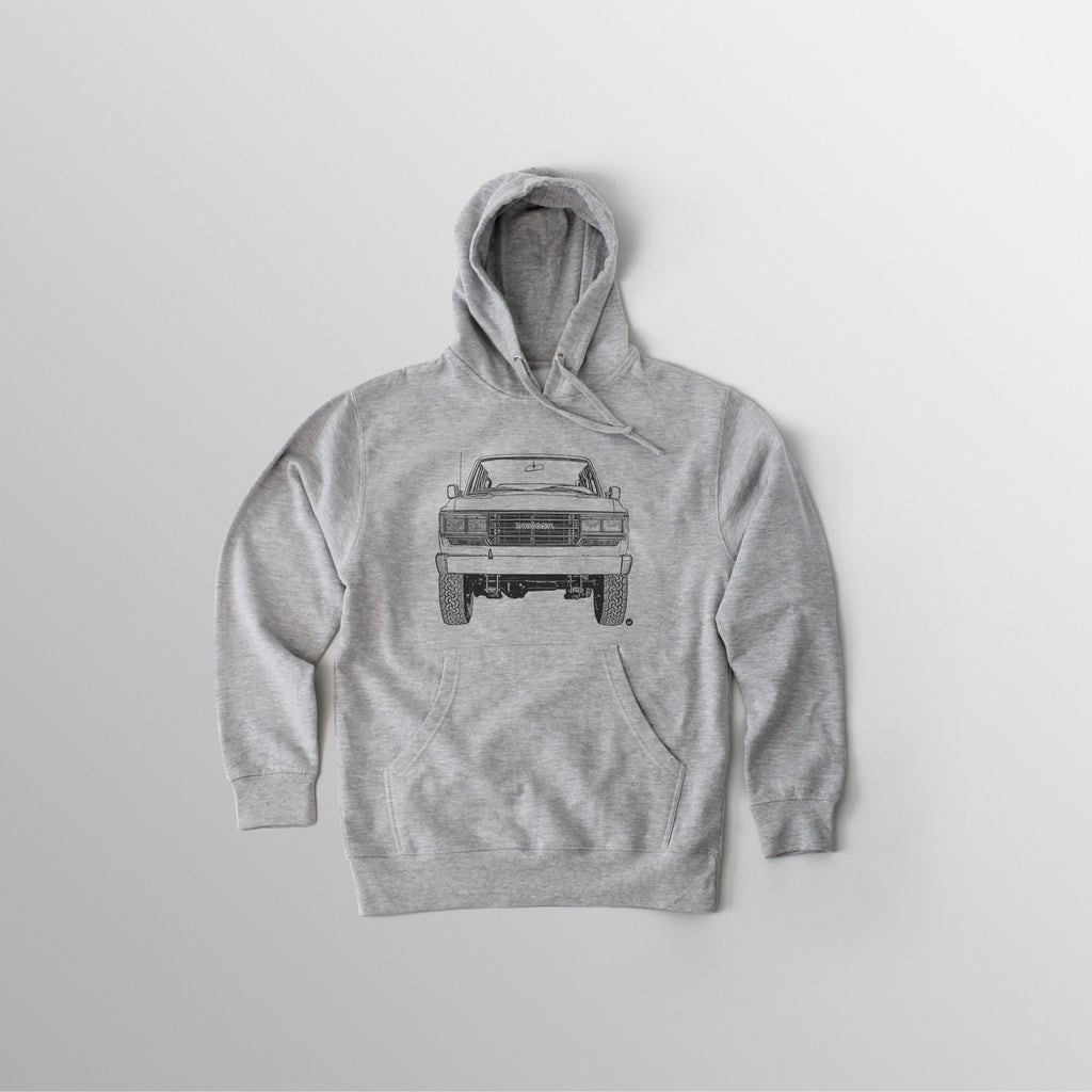FJ62 Hooded Fleece