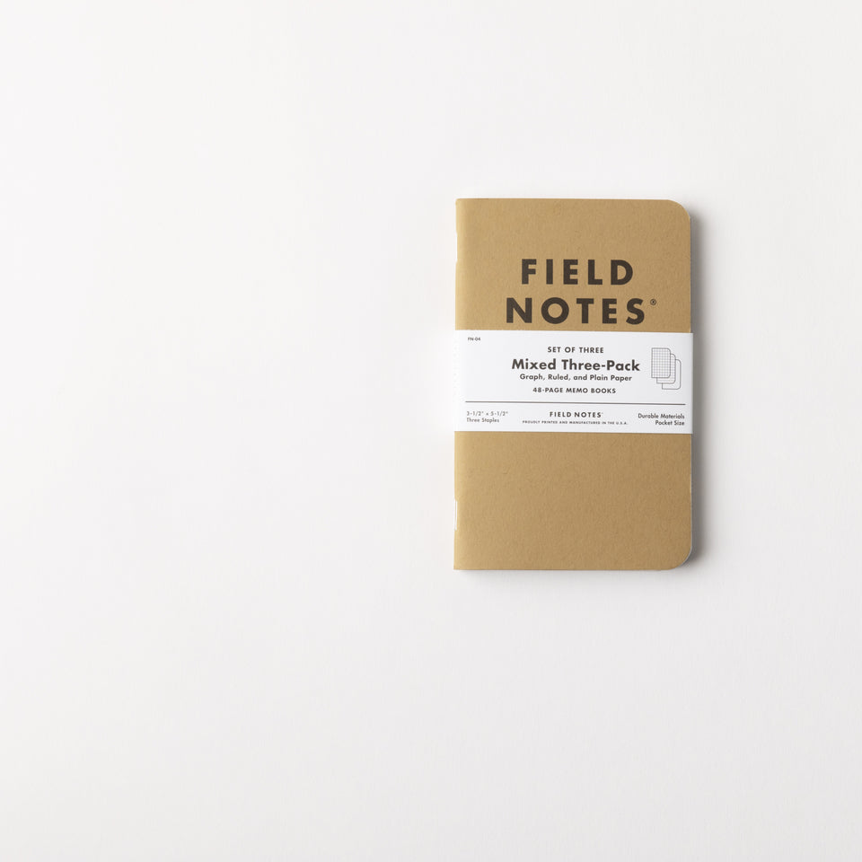 Field Notes Mixed Pack - By Autotype