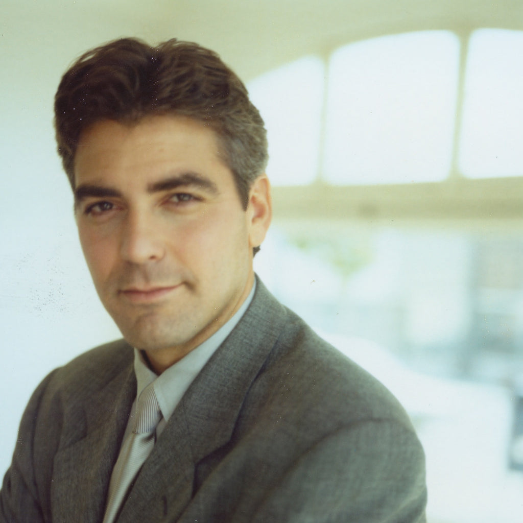 George Clooney - Original Polaroid by Dewey Nicks