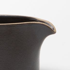 Hasami Creamer Cup - Black - Autotype Design Goods