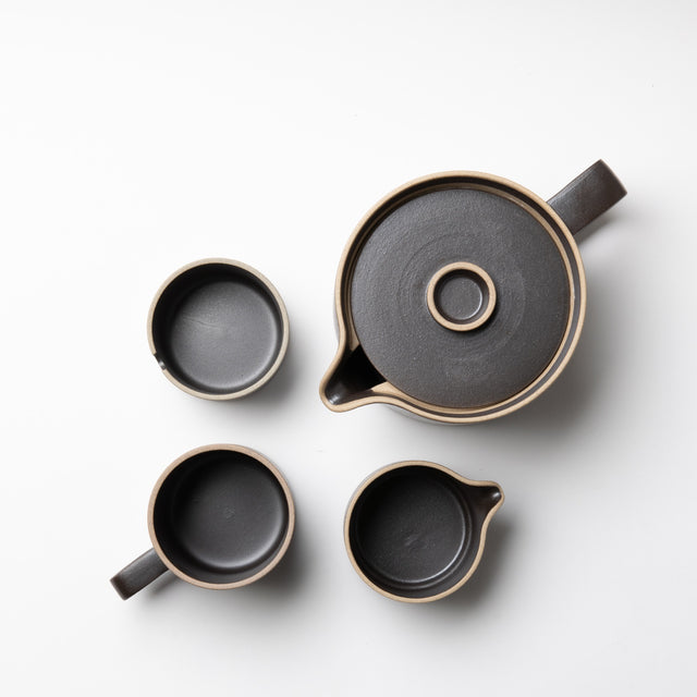 Hasami Tea Set - Black - Autotype