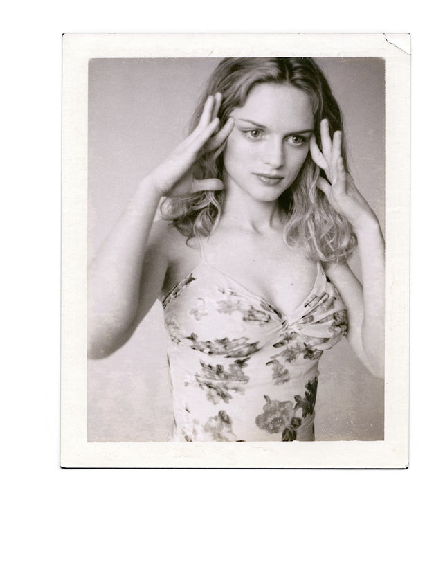 Heather Graham - Original Polaroid by Dewey Nicks