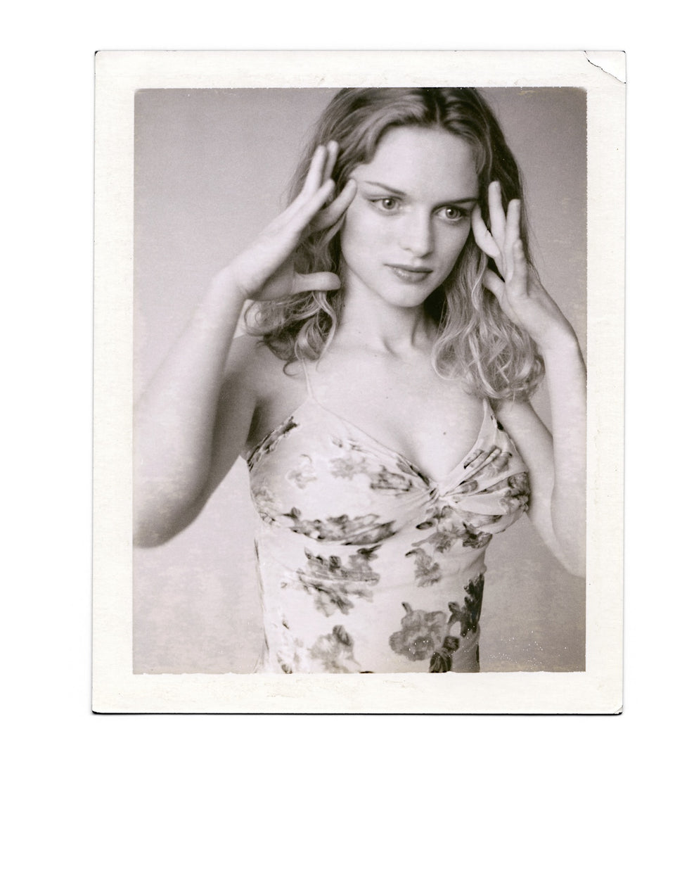 Heather Graham - Original Polaroid