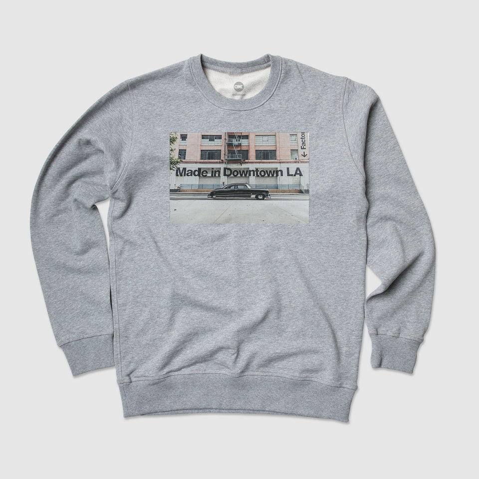 """Made in Downtown LA"" Crew Fleece"