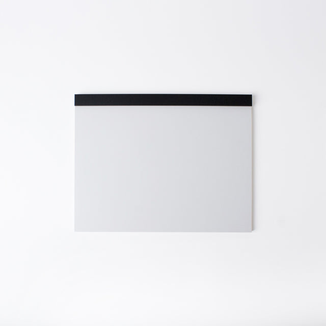 Drawing Pad - Black Mount White