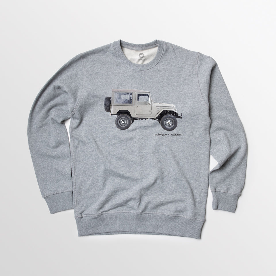 FJ40 Render Crewneck Fleece
