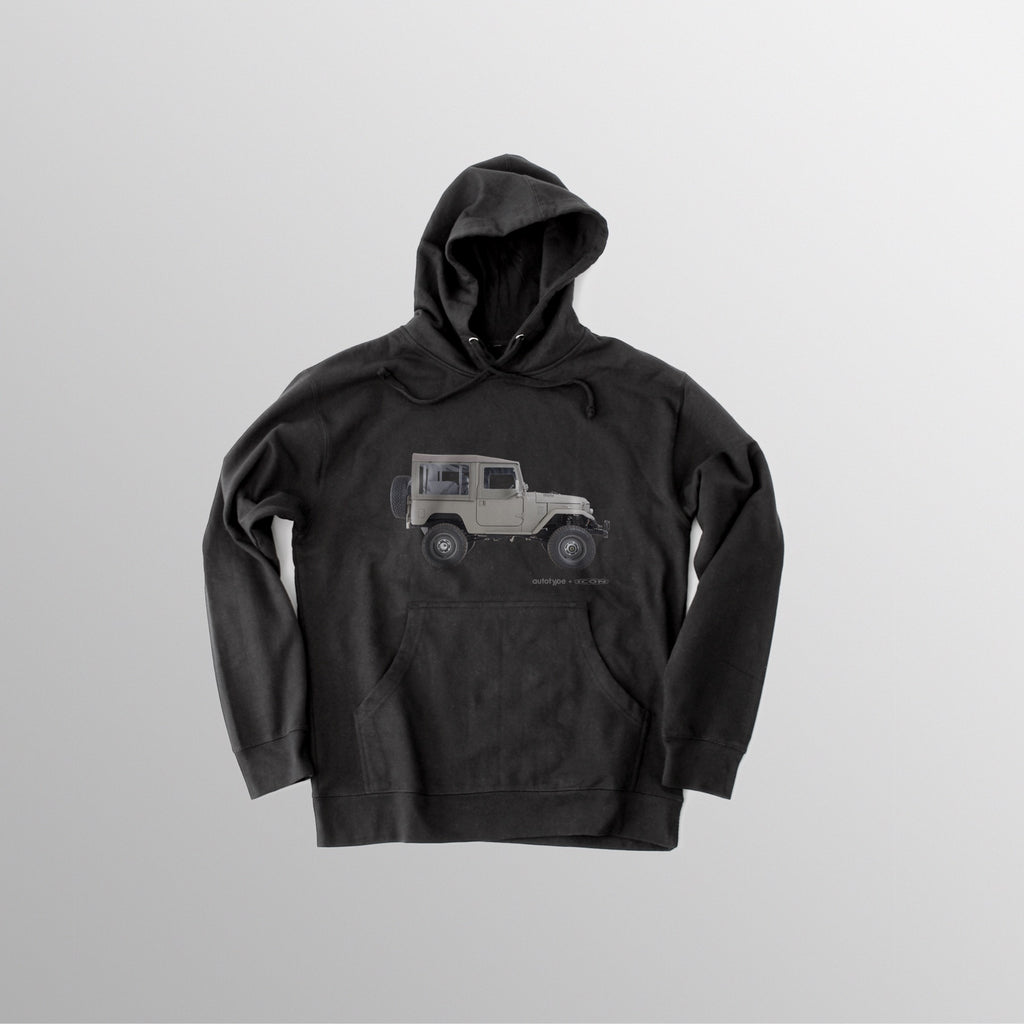 Men's LE-FJ40 Hooded Fleece - Black