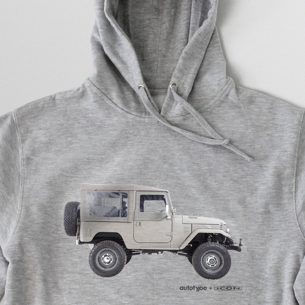 FJ40 Render Hooded Fleece