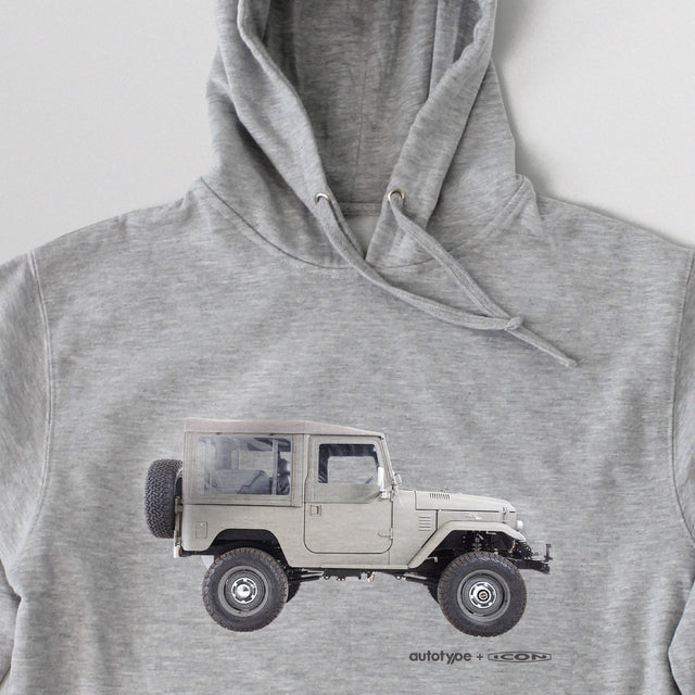 Men's LE-FJ40 Hooded Fleece - Athletic Heather Grey