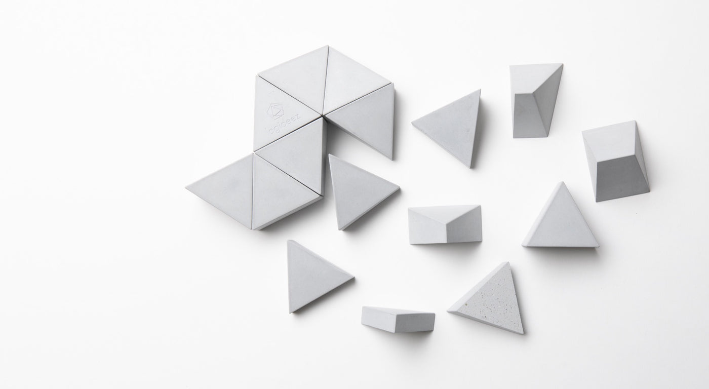 Logifaces - Concrete Puzzle - Autotype Design Goods