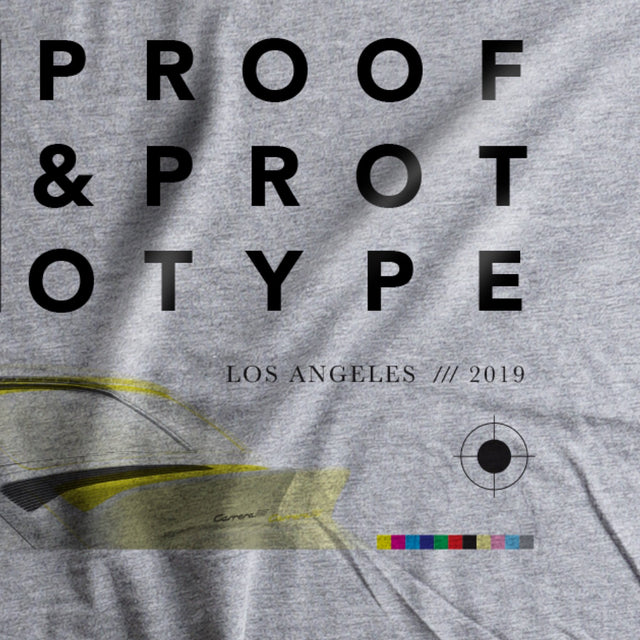 000 Proof and Prototype Tee - Grey - Autotype