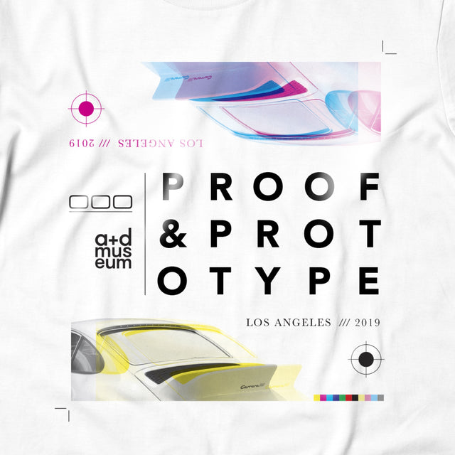 000 Proof and Prototype Tee - White