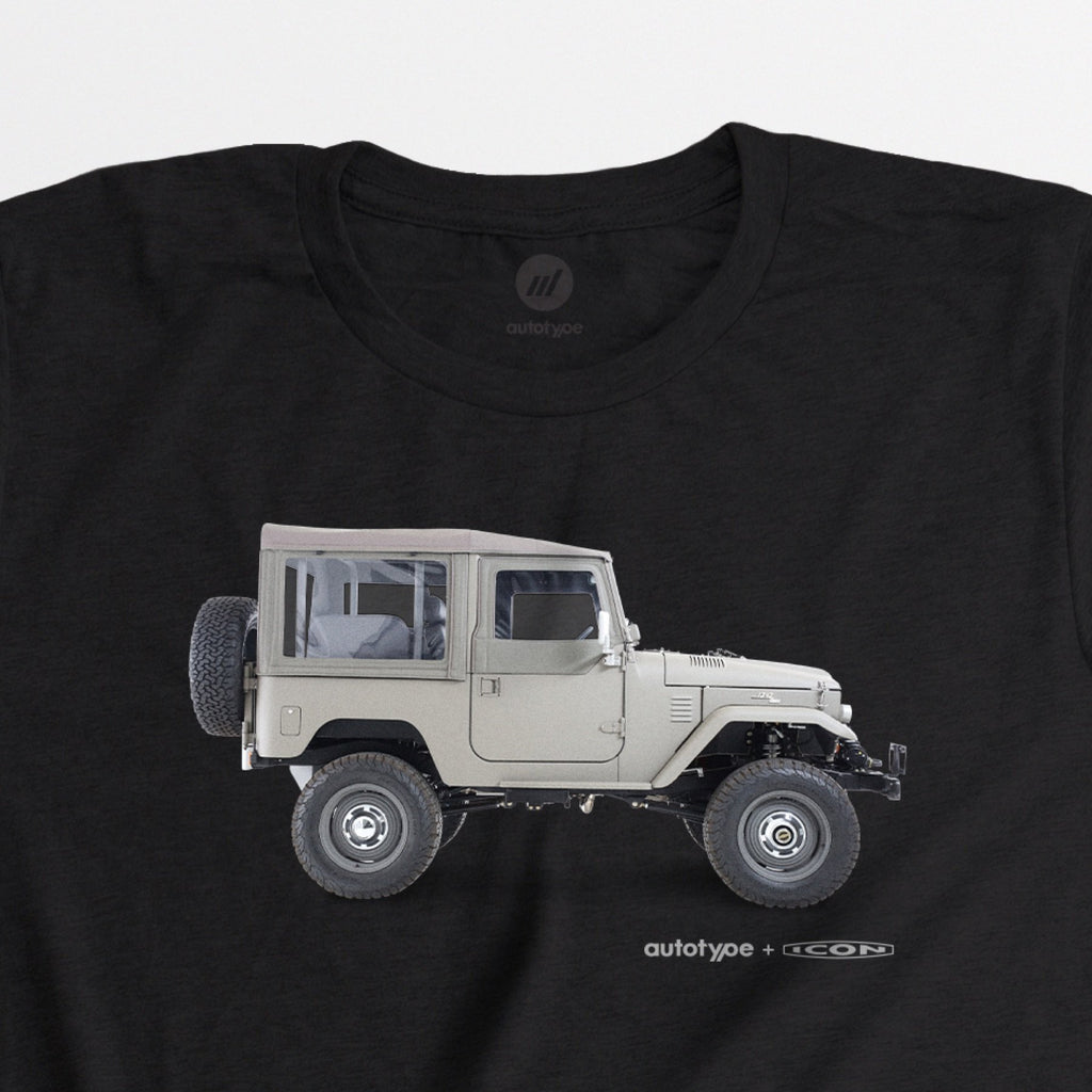 Limited Edition Men's ICON FJ40 Tee - Black