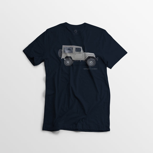 Limited Edition Men's ICON FJ40 Tee - Navy - By Autotype