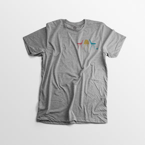 Men's Chair Tee - Modernica + Autotype