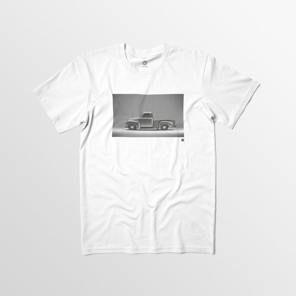 Limited Edition Men's ICON Thriftmaster Tee - White - By Autotype