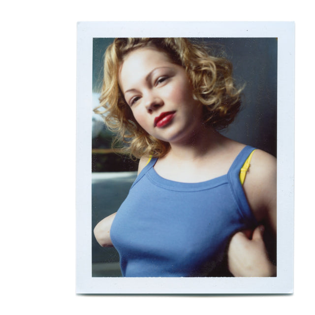 Michelle Williams - Original Polaroid by Dewey Nicks