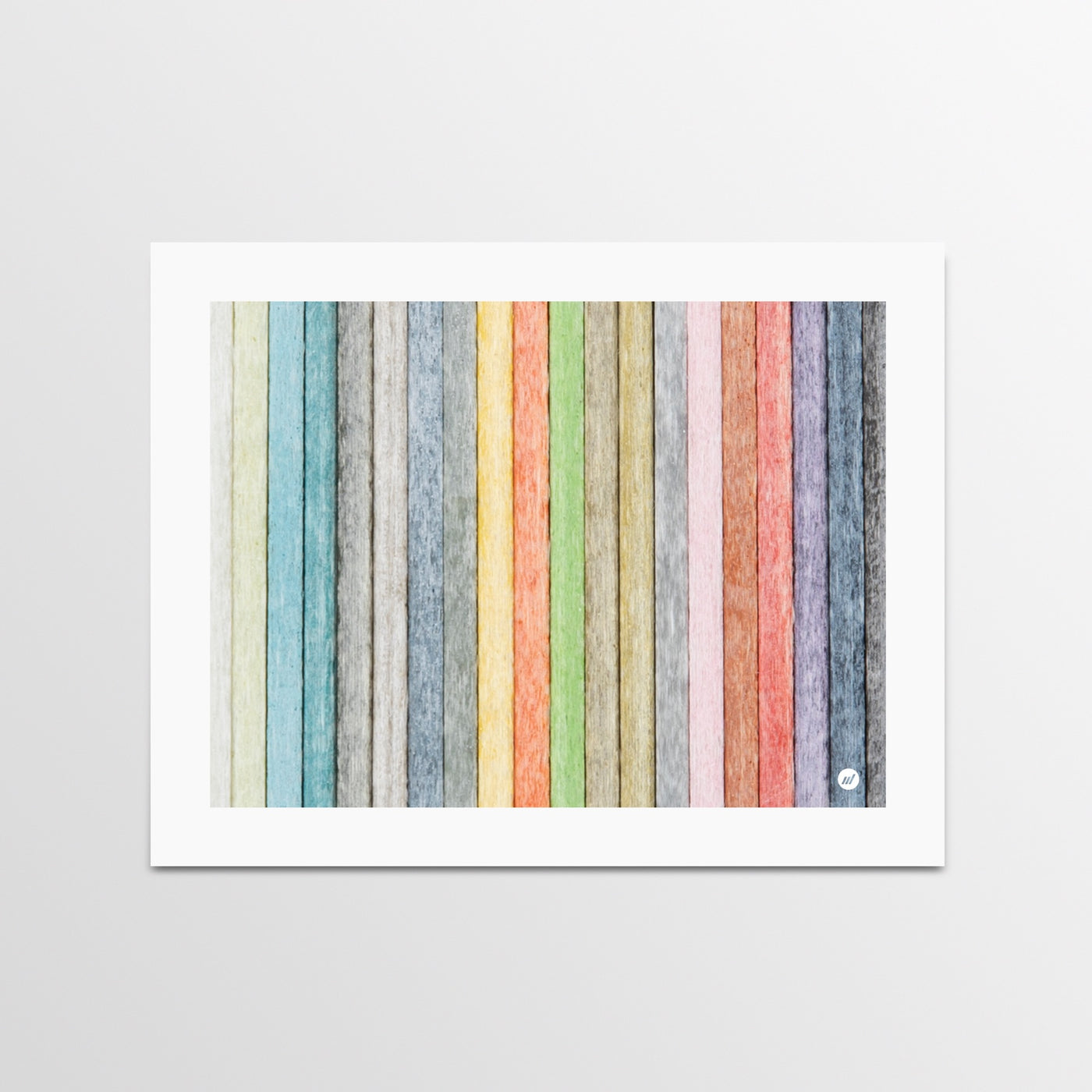 Fiberglass Print - Colorful Print - By Autotype