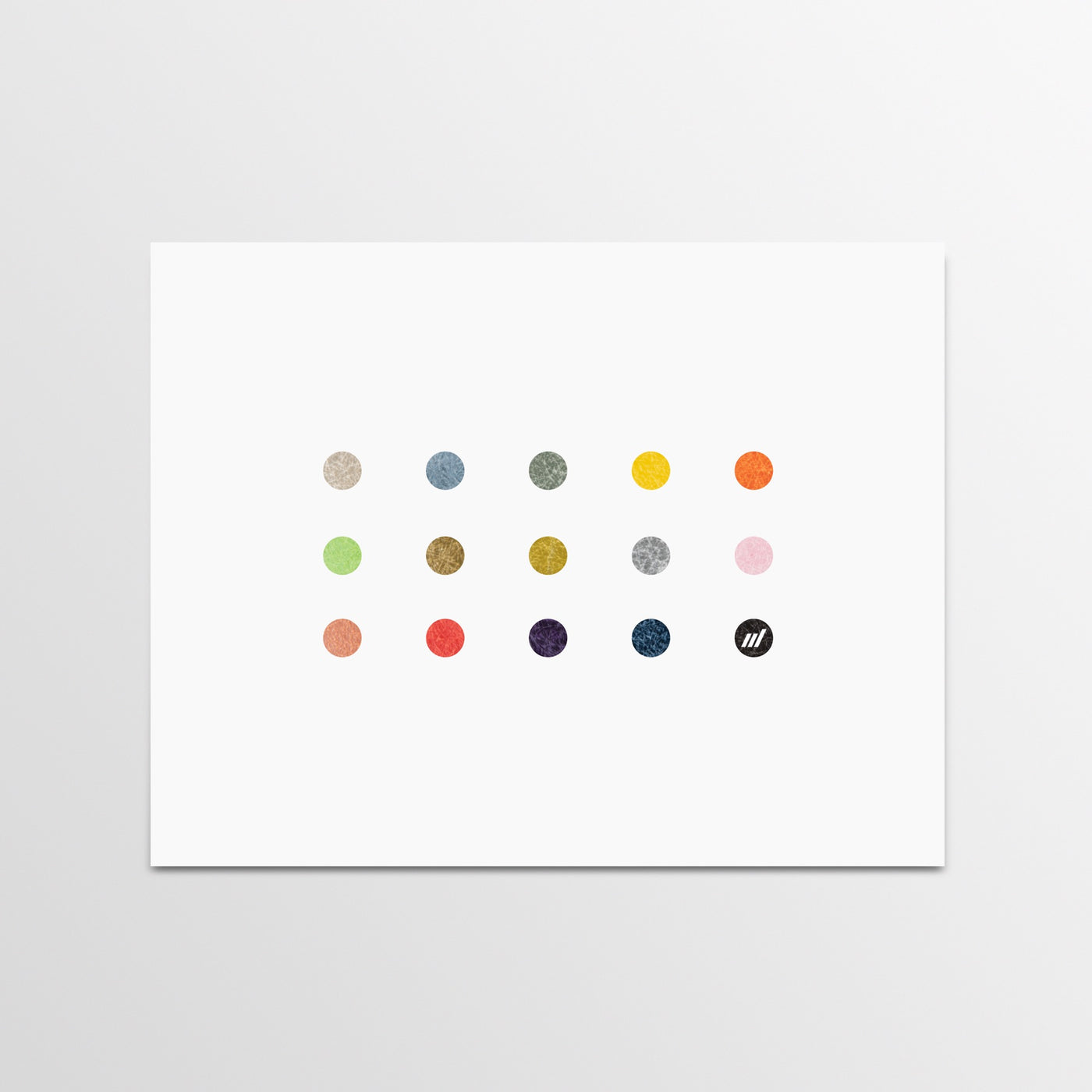 Modernica Color Dots Print - By Autotype