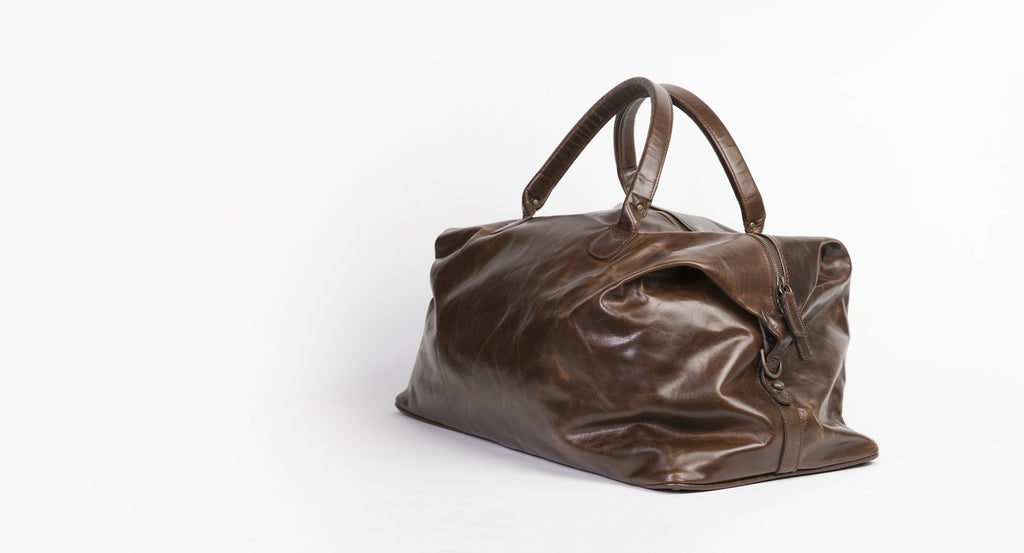 Benedict Weekend Leather Bag - Moore and Giles - Autotype