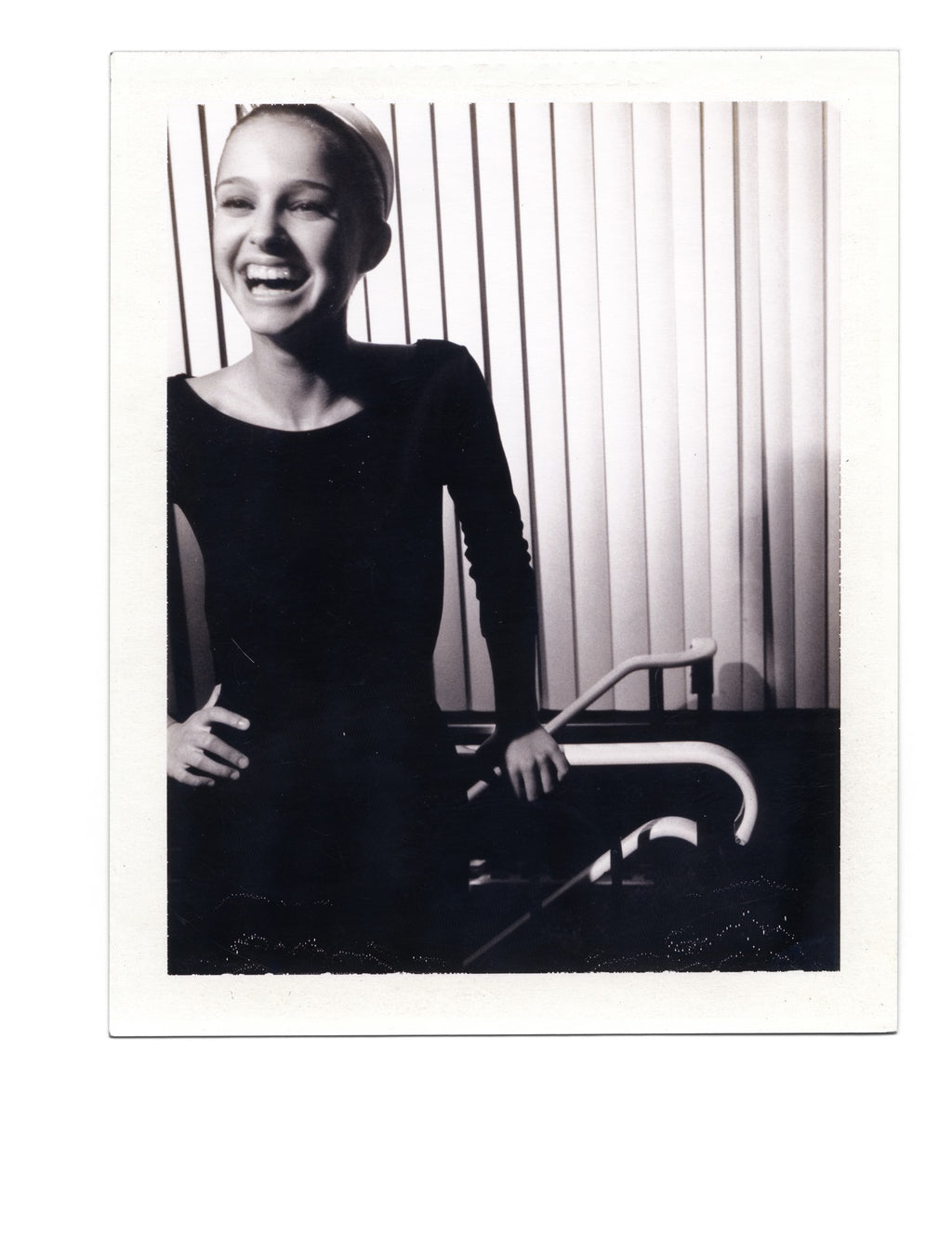 Natalie Portman - Original Polaroid by Dewey Nicks