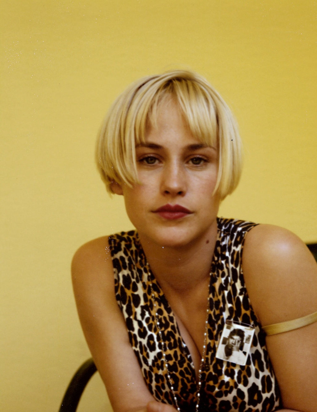 Patricia Arquette - Original Polaroid by Dewey Nicks