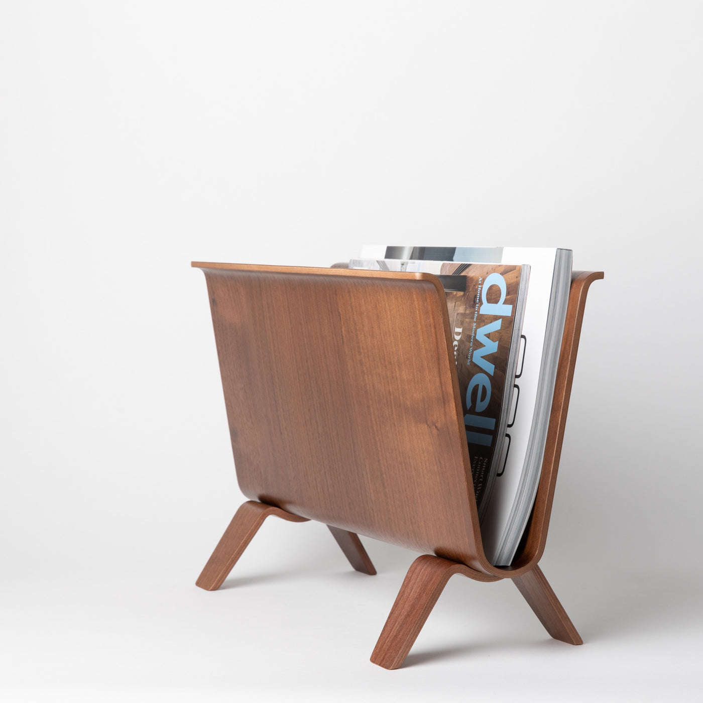 Saito Wood Magazine Rack - Autotype Design Goods