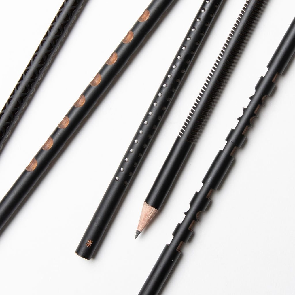 Tät-Tat - Laser Sculpted Pencil Set