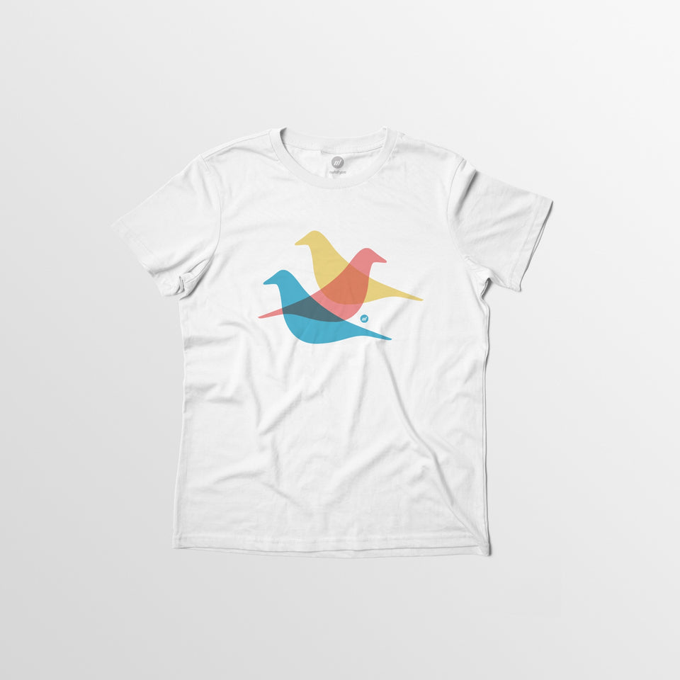 Woman's Crows Tee - By Autotype