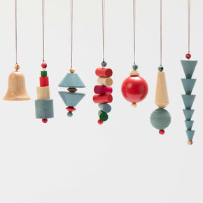Bauhaus Christmas Ornaments
