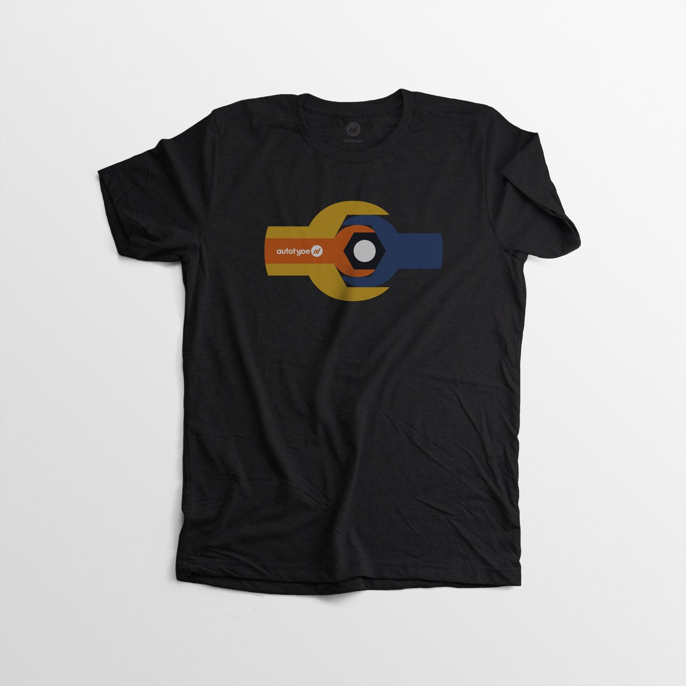 Men's Autotype Wrench Tee - Black