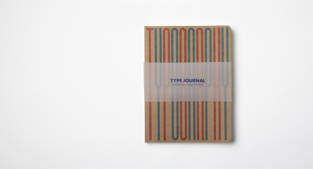 Type Journal: A Typeface and Lettering Sketchbook - By Autotype