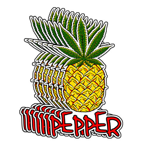 Pepper - Hawaiian Pepper (Sticker Pack)