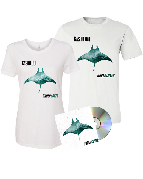 Kash'd Out - Undercover CD + Digital Album + Tee Pre-Order