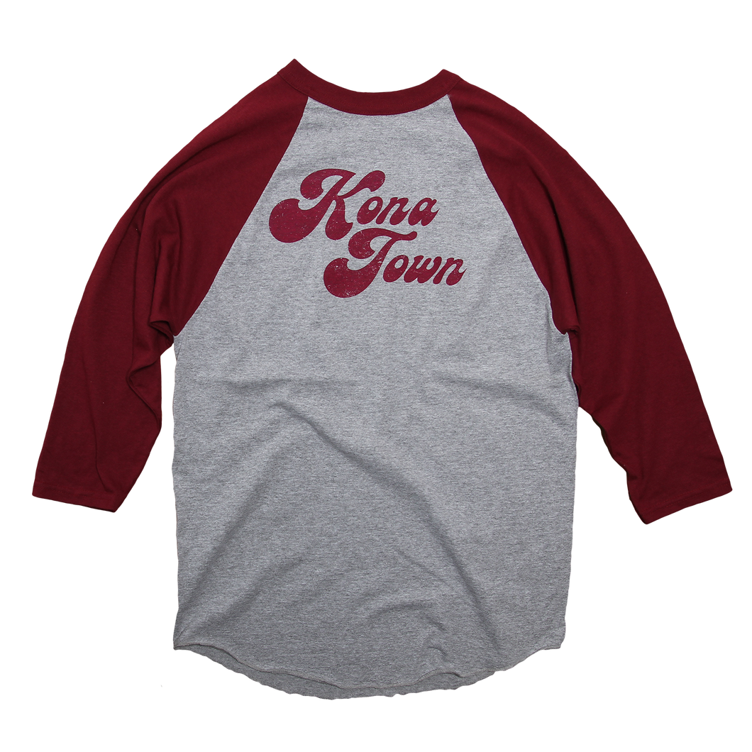 Pepper - Kona Town Baseball Tee