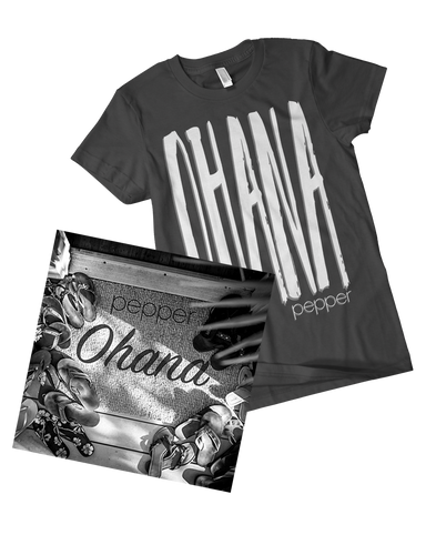 Pepper - Ohana T-Shirt & Vinyl Bundle
