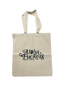 Aloha Fuckers Natural Tote Bag