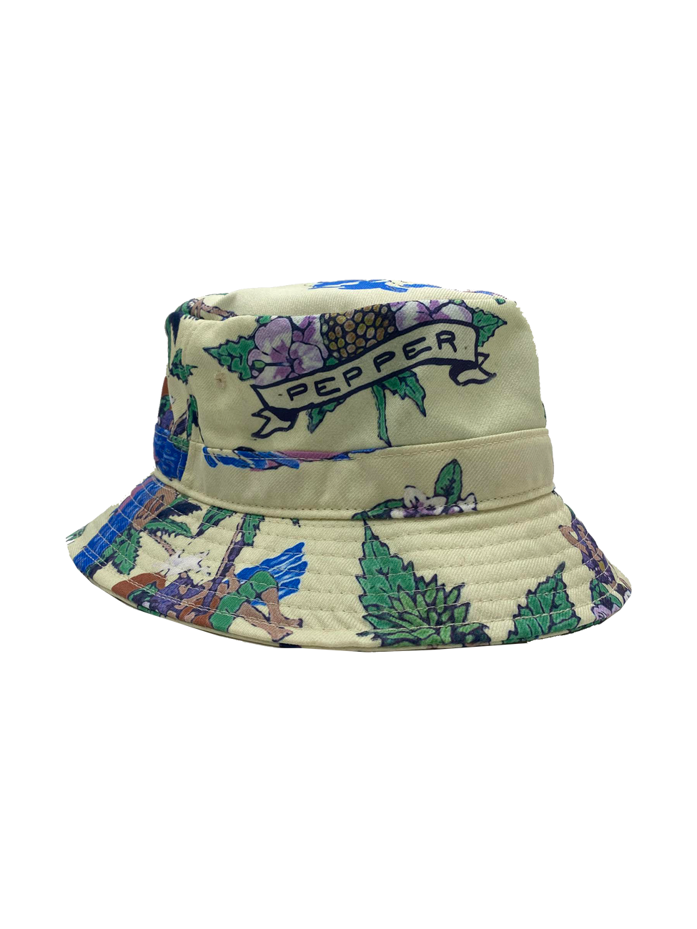 Hawaii Dye Sub Bucket Hat