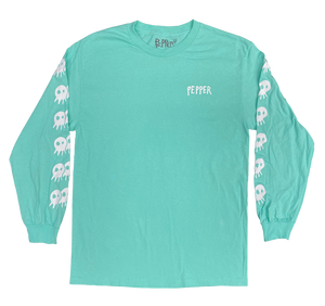 Pepper - Seafoam Long Sleeve