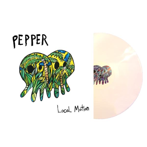 Pepper - Local Motion White Vinyl Pre-Order