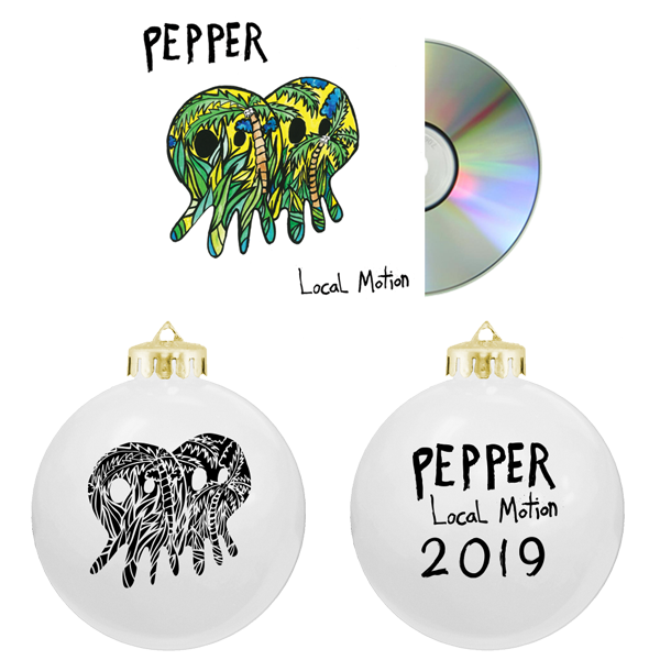 Pepper 2019 Ornament + Local Motion CD