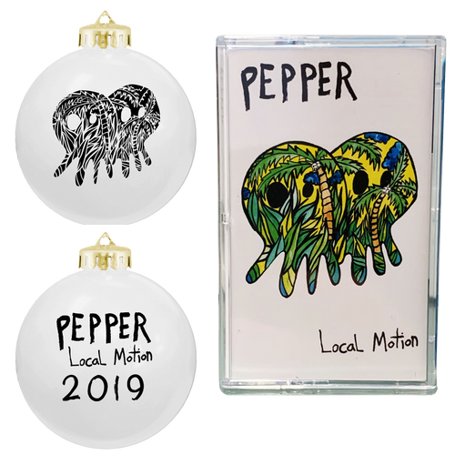 Pepper 2019 Ornament + Local Motion Cassette