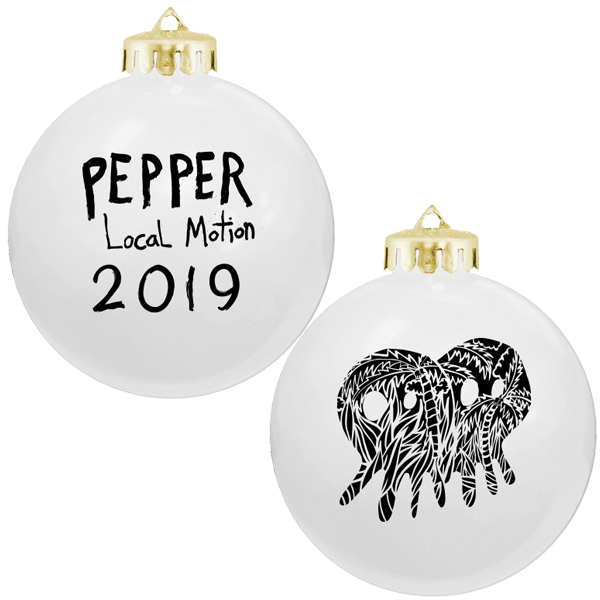 Pepper 2019 Ornament