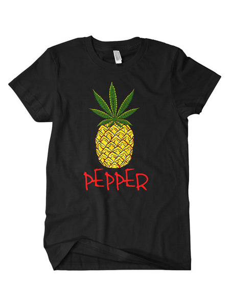 Pepper - Pineapple T-Shirt (Black)