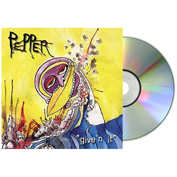 Pepper - Give'n It CD